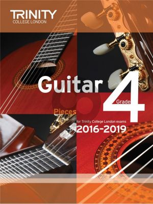 Guitar Exam Pieces Grade 4 (2016-2019) Trinity College