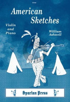 American Sketches (Grade 3-4) Violin-Piano)