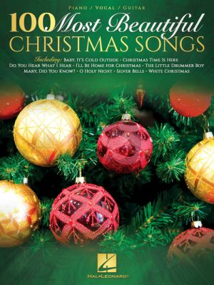 100 Most Beautiful Christmas Songs Piano-Vocal-Guitar