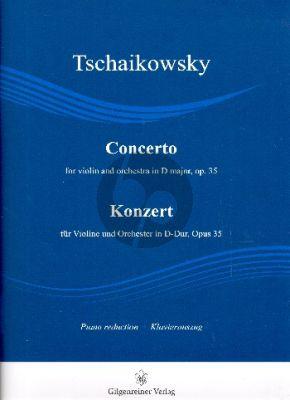 Tchaikovsky Konzert D-Dur Op.35 Violine und Orchester (KA) (transcr. Edward Rushton und Philip Draganov)