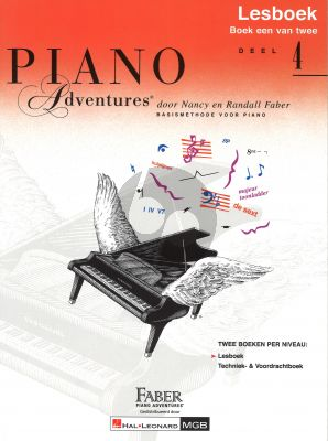 Faber Piano Adventures Lesboek 4 Boek (Ned)