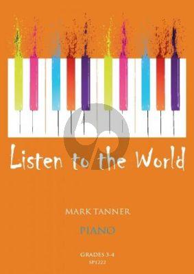 Tanner Listen to the World Piano Book 2 Grades 3-4 Piano solo