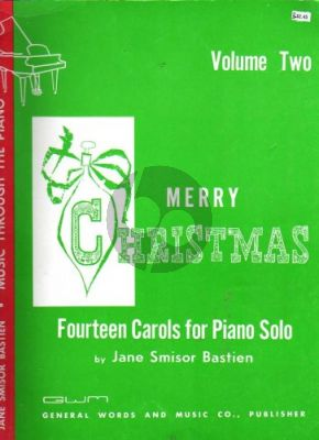 Bastien Merry Christmas Vol.2 (14 Carols) (Piano solo)
