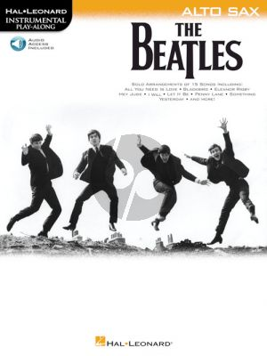The Beatles Instrumental Play-Along Alto Sax (Book with Audio online)