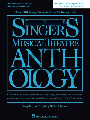 Singers Musical Theatre Anthology 16-Bar Audition Mezzo-Soprano/Belter (edited by Richard Walters) (revised ed.)