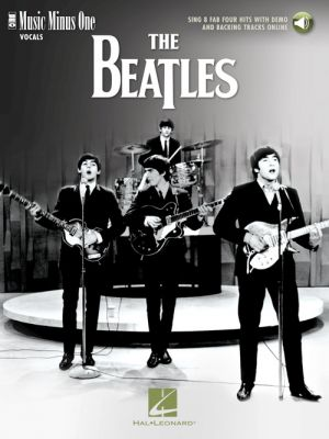 The Beatles – Sing 8 Fab Four Hits with Demo and Backing Tracks Online (Book with Audio) (Music Minus One)
