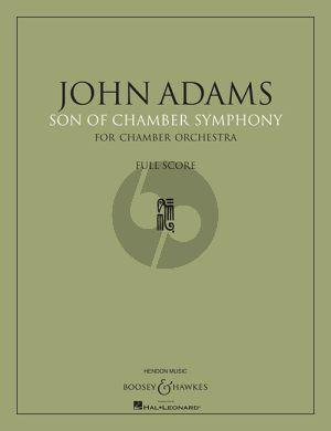 Adams Son of Chamber Symphony Chamber Ensemble Score
