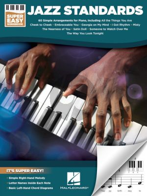 Jazz Standards – Super Easy Songbook for Piano Nabestellen