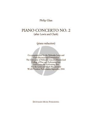 Glass Concerto No.2 Piano-Orchestra (2 piano's red.)