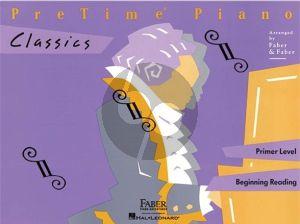 Faber PreTime Piano Classics Primer Level (Piano Adventures Course)