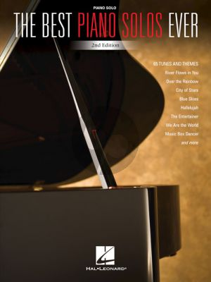 The Best Piano Solos Ever (2nd. ed.)