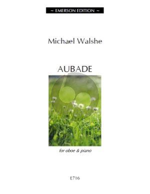 Walshe Aubade Oboe-Piano