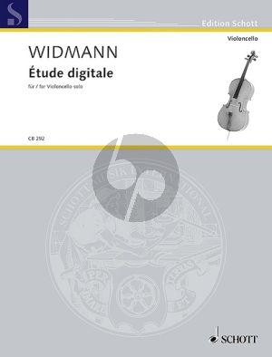 Widmann Étude digitale Violoncello solo