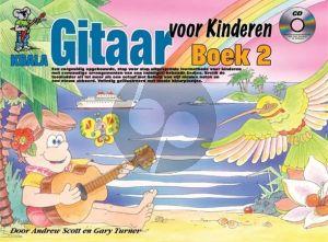 Scott and Turner Gitaar voor Kinderen Boek 2 Boek-CD-DVD