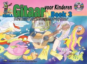 Scott and Turner Gitaar Voor Kinderen Boek 3 Boek-CD-DVD