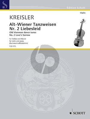 Kreisler Liebesleid (Alt-Wienertanzweisen No.2) Violine-Klavier (Mats Lidström)