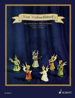 Mein Weihnachtsbuch (40 Weihnachtslieder mit vollständigen Texten) Klavier zu 2 und 4 Hd.