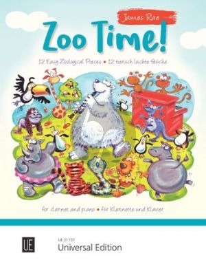 Rae Zoo Time! for Clarinet and Piano