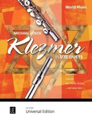Losch Klezmer Flute Duets for 2 Flutes