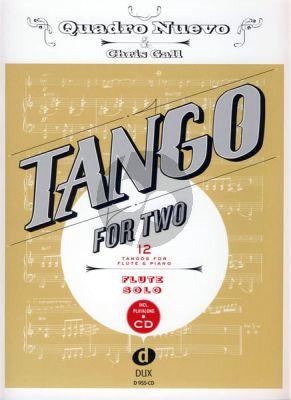 Tango for Two Flutes (Bk-Cd) (Quadro Nuevo-Chris Gall)