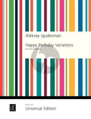 Igudesman Happy Birthday Variations for Violin and Piano