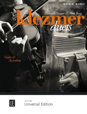 Klezmer Duets for Violin and Accordion (Score/Part) (edited by Deborah Strauss and Alan Bern)
