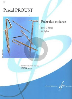 Proust Prélu-Duo et Danse 2 Flutes (easy) (grade 3)