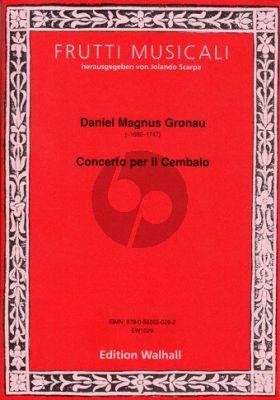 Gronau Concerto per il Cembalo (ed. Jolando Scarpa)