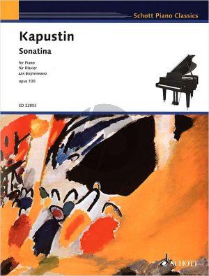 Kapustin Sonatina Op.100 for Piano solo