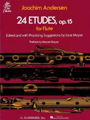 Andersen 24 Etudes Op.15 for Flute (Louis Moyse)