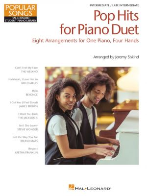 Pop Hits for Piano Duet – Popular Songs Series (arr. Jeremy Siskind)