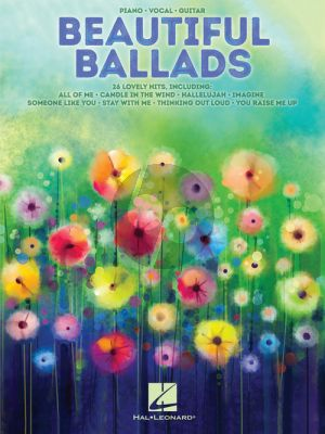 Beautiful Ballads Piano-Vocal-Guitar