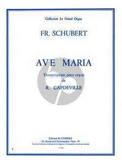 Ave Maria pour Orgue