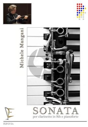 Mangani Sonata for Clarinet(Bb)-Piano