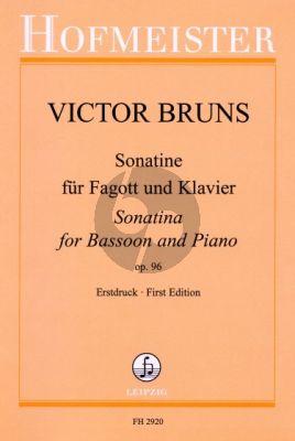 Bruns Sonatine Op.96 Fagott-Klavier
