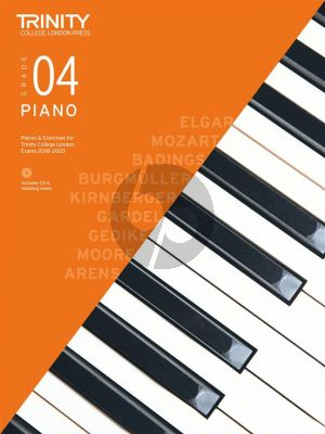 Piano Exam Pieces & Exercises 2018–2020 - Grade 4 (with CD & teaching notes)