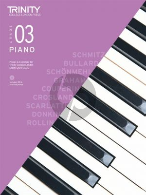 Piano Exam Pieces & Exercises 2018–2020 - Grade 3 (with CD & teaching notes)