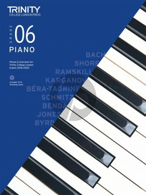 Piano Exam Pieces & Exercises 2018–2020 - Grade 6 (with CD & teaching notes)