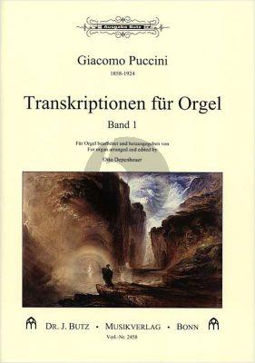 Transkriptionen für Orgel Vol.1