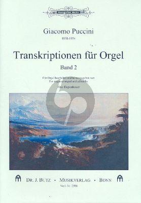 Transkriptionen für Orgel Vol.2