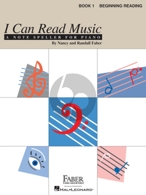 I Can Read Music Book 1 Beginning Reading (Faber Piano Adventures)