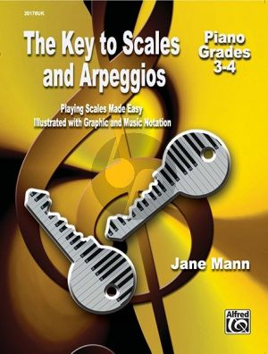 Key to Scales and Arpeggios Grades 3 - 4 Piano