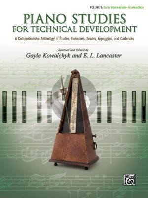 Piano Studies for Technical Development, Vol.1