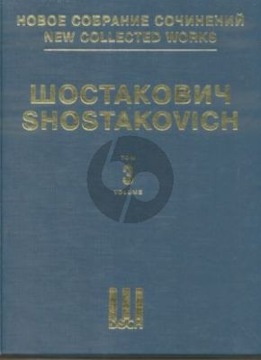 Shostakovich Symphony No.3 Op.20 & Unfinished Symphony of 1934 Full score (New collected works of Dmitri Shostakovich. Vol.3)