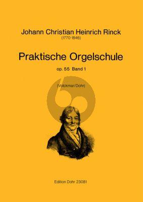 Rinck Praktische Orgelschule Op.55 Vol.1 (Volckmar/Dohr)