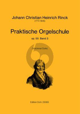 Rinck Praktische Orgelschule Op.55 Vol.3 (Volckmar/Dohr)