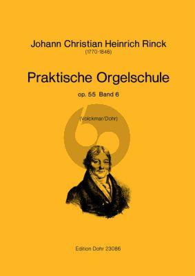 Rinck Praktische Orgelschule Op.55 Vol.6 (Volckmar/Dohr)