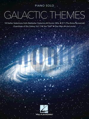 Galactic Themes Piano solo