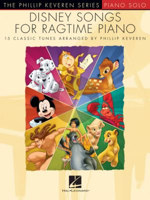 Disney Songs for Ragtime Piano