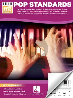 Pop Standards – Super Easy Songbook Piano